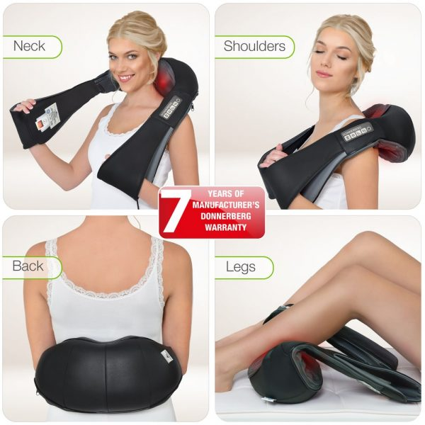 Neck and shoulder Donnerbegr massager can be used for different body parts