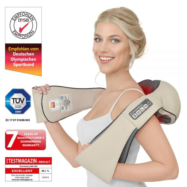 Neck and back massager Donnerberg