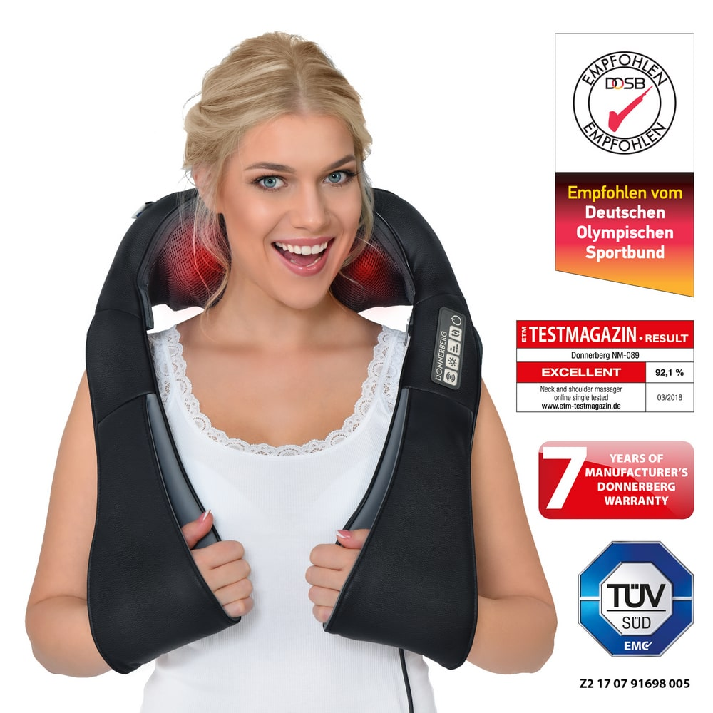Neck and shoulder massager – Premium NM089 (black)