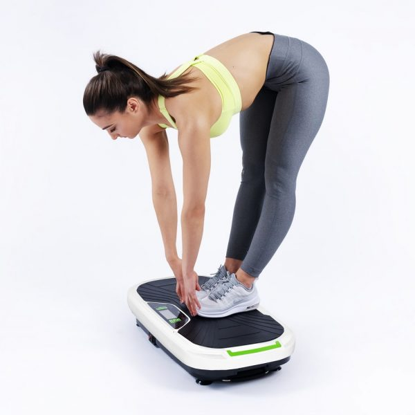 Donnerberg Thera vibration plate with resistance bands